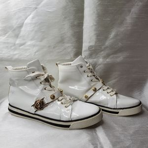 Authentic Versace High Top Sneakers